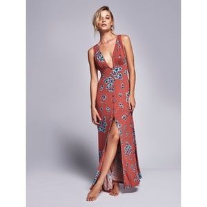 Free People Other Days Maxi Dress - Red/Rogue